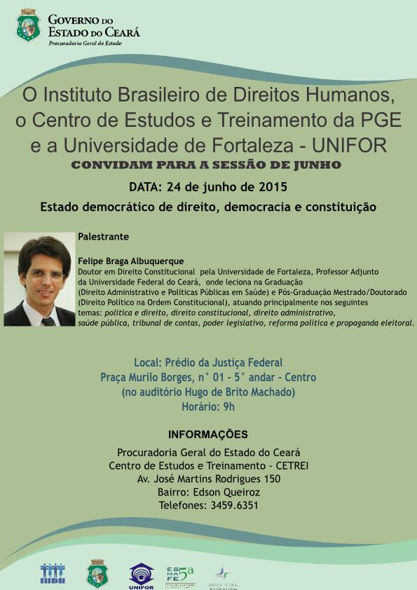 17 Fórum Permanente dos Direitos Humanos (24 de junho de 2015)
