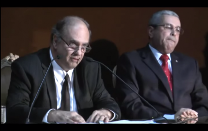 Palestra do professor Antônio Augusto Cançado Trindade