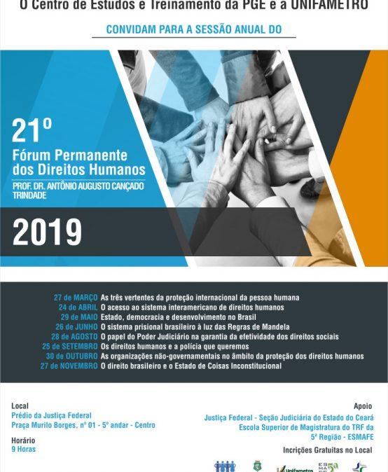 21 Fórum Permanente dos Direitos Humanos (2019)