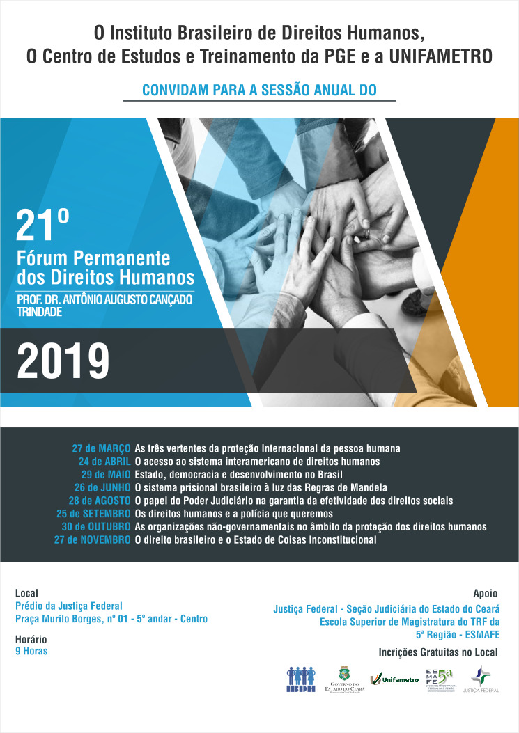 Convite: Fórum de Direitos Humanos